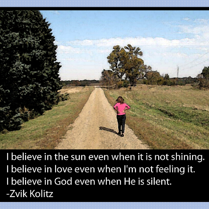 Even When He is Silent I Believe – Zvik Kolitz