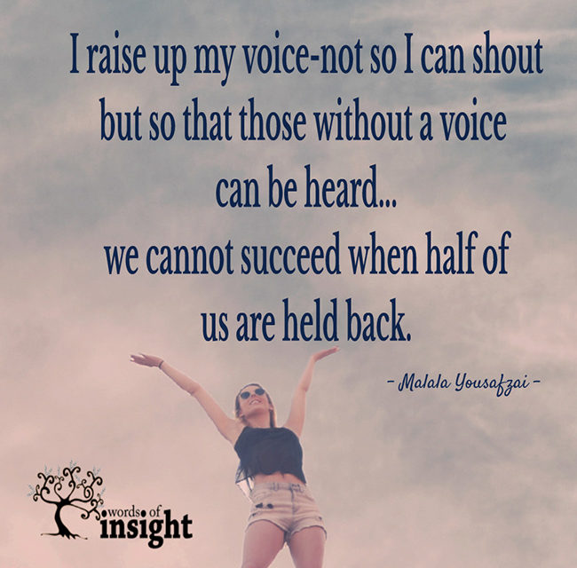 I Raise Up My Voice